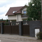 Ogrodzenie posesji na poznańskich Smochowicach